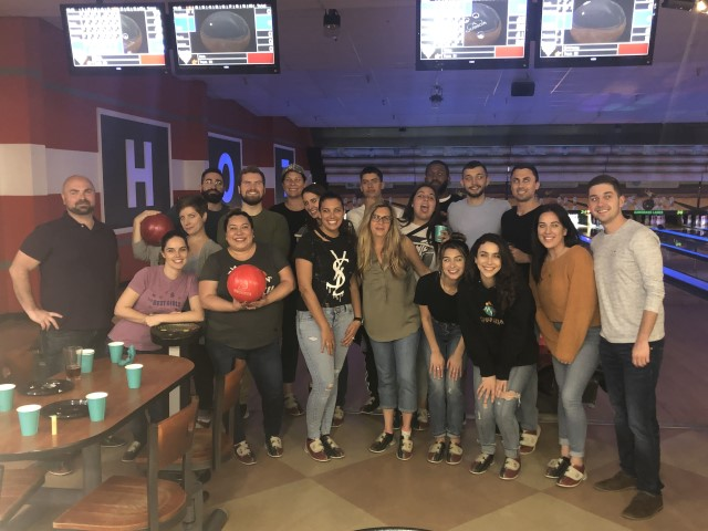 Bowling with Team Therapia!